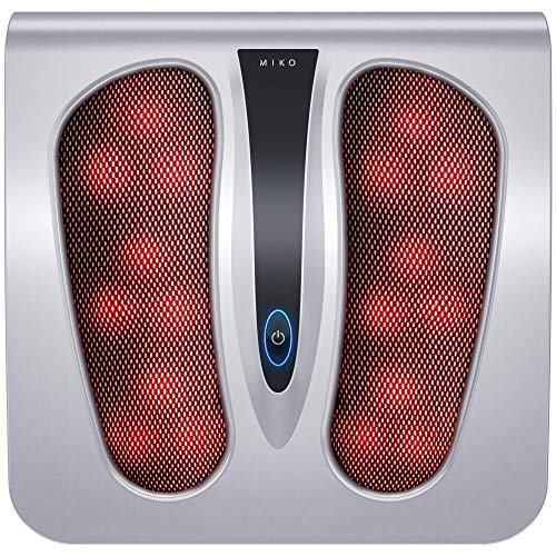 Miko Foot Massager with Shiatsu Settings, Deep-Kneading Functions, and Rotating...