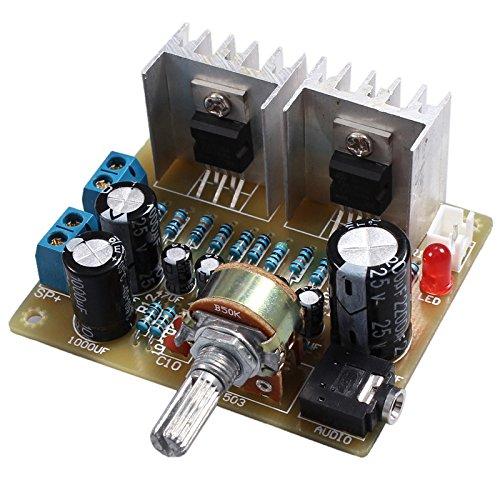 SODIAL Doble canal TDA2030A Kit DIY amplificador de potencia para Arduino