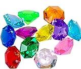 jollylife 36PCS Acrylic Diamond Gems Jewels...