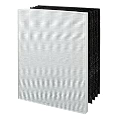 Compatible with Winix air cleaner models C535, 5300-2, P300, 5300 Use to replace worn out filters, Helps remove allergens and other airborne particles while absorbing odors and VOCs The Winix True HEPA + 4 Filter Activated Carbon Replacement Filter i...