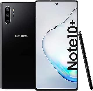 Samsung Galaxy Note 10+ Dual SIM - 256GB, 12GB RAM, 4G LTE, Aura Black, UAE Version