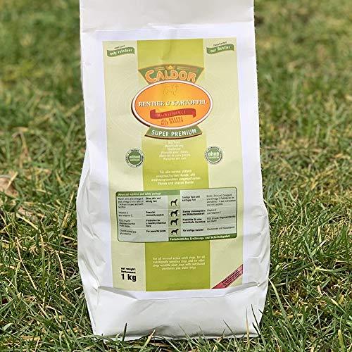 Caldor 12 kg Maintenance Rentier + Kartoffel | getreidefreies Hunde Trockenfutter