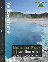 Yellowstone National Park Junior Notebook: Wide Ruled Adventure Notebook for Kids and Junior Rangers