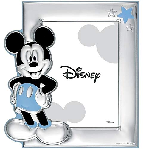 Cadre Photo Portafotos Plata Loi Sur 925M Disney Photo 13X18Cm. Mickey [Ac0892]