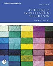 45 Techniques Every Counselor Should Know (Merrill Counseling) PDF