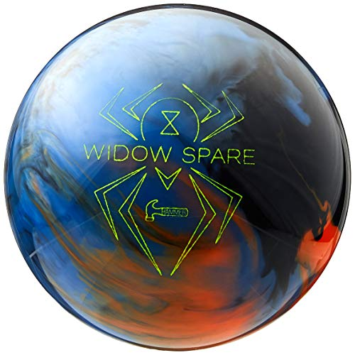 Hammer Black Widow Spare Bowling Ball Blue/Orange/Smoke, 15lbs