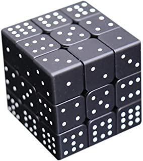 3x3x3 Speed Cube 3D Relief Effect Sudoku Braille Magic Cube Puzzle,IQ Reasoning Games Puzzles Special for The Blind Person,Weak Vision, 5.6cm/2.2