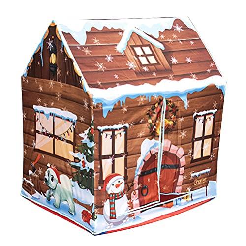 Tenda da gioco per bambini, per interni ed esterni, pieghevole, con lucchetto per bambini, ideale come regalo di compleanno