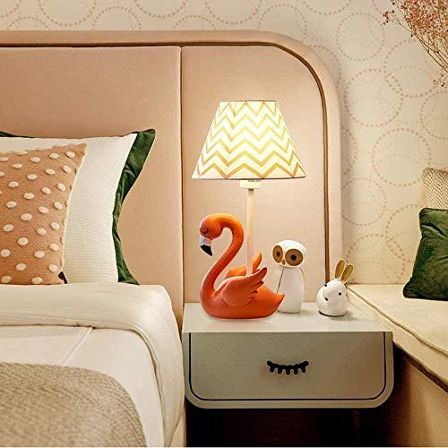 Kinderkamer slaapkamer Flamingo tafellamp, meisje prinses bedlampje nachtlamp Cute Cartoon creatieve verjaardagscadeau