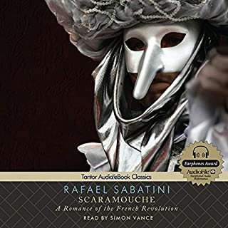Scaramouche audiobook cover art
