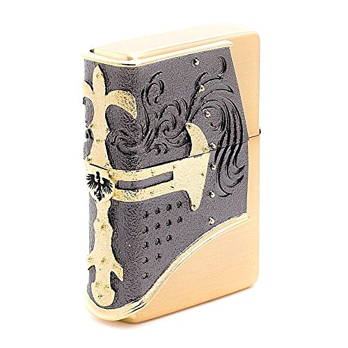 Zippo Helm Gold Lighter Made in USA/Genuine and Original PackingZippo Helm Gold Lighter Made in USA/Genuine and Original Packing