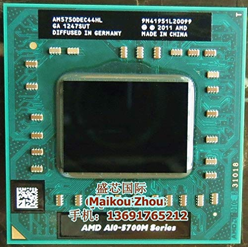 DIPU WULIAN Laptop Mobile A10 5750M A10-5750m a10 5750M Socket FS1 CPU 4M Cache/2.5GHz/Quad-Core Laptop Processor for GM45/PM45