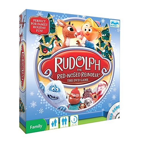 Rudolph The Red Nosed Reindeer Family Christmas DVD Game