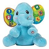 WinFun Elefante educativo con luz y sonido, color azul (Colorbaby 44521)