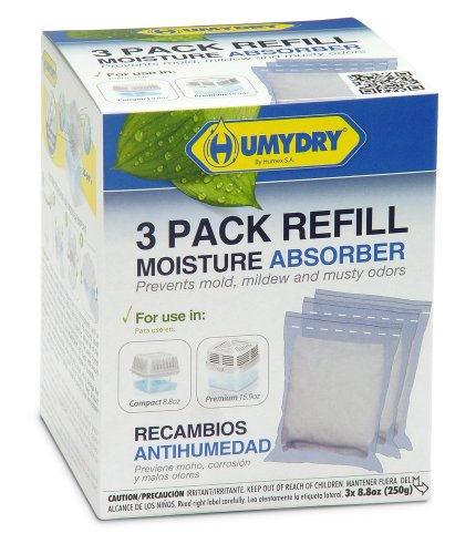 Humydry 3Pk. Refill 8.8oz. Unscented