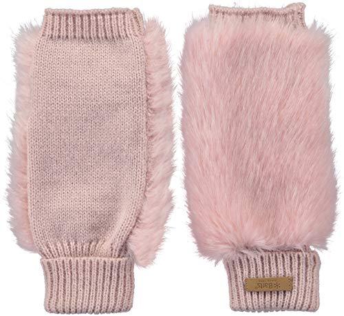 Barts - Scaldamuscoli per braccio, a tinta unita, in pelliccia 08 rosa Taglia unica