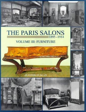 The Paris Salons 1895-1914: Furniture