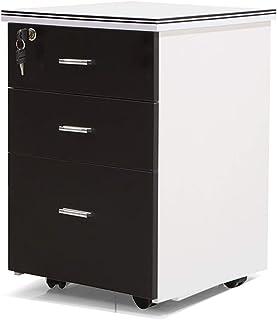 Bureau Mobile Tiroir Cabinet Trois Tiroirs Cabinet Court Cabinet Dossier Activité De Stockage Cabinet Tomber Mobile Avec S...