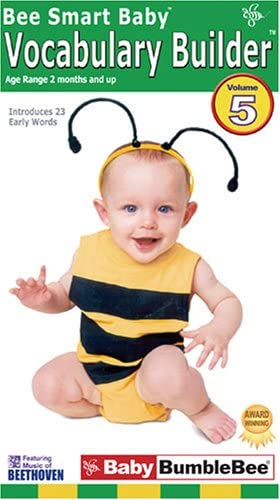 Bee Classic Smart online shop Baby Vocabulary Builder 5 VHS
