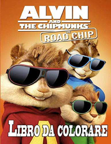 Alvin and The Chipmunks libro da colorare