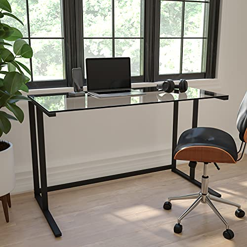 Flash Furniture Glass Desk