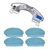 Deesen Set de Almohadillas para Trapeador y Tanque de Agua para Deebot Ozmo 920 950 Kit de Aspiradora de Repuesto