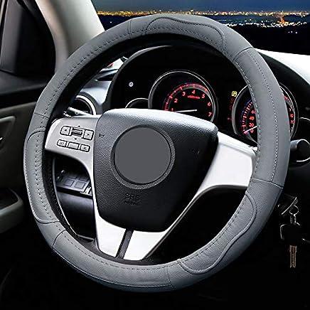 WLFXPT Estuche de Cuero para Volante para Mazda 2 3 Mazda 6 Axela Atenza CX-