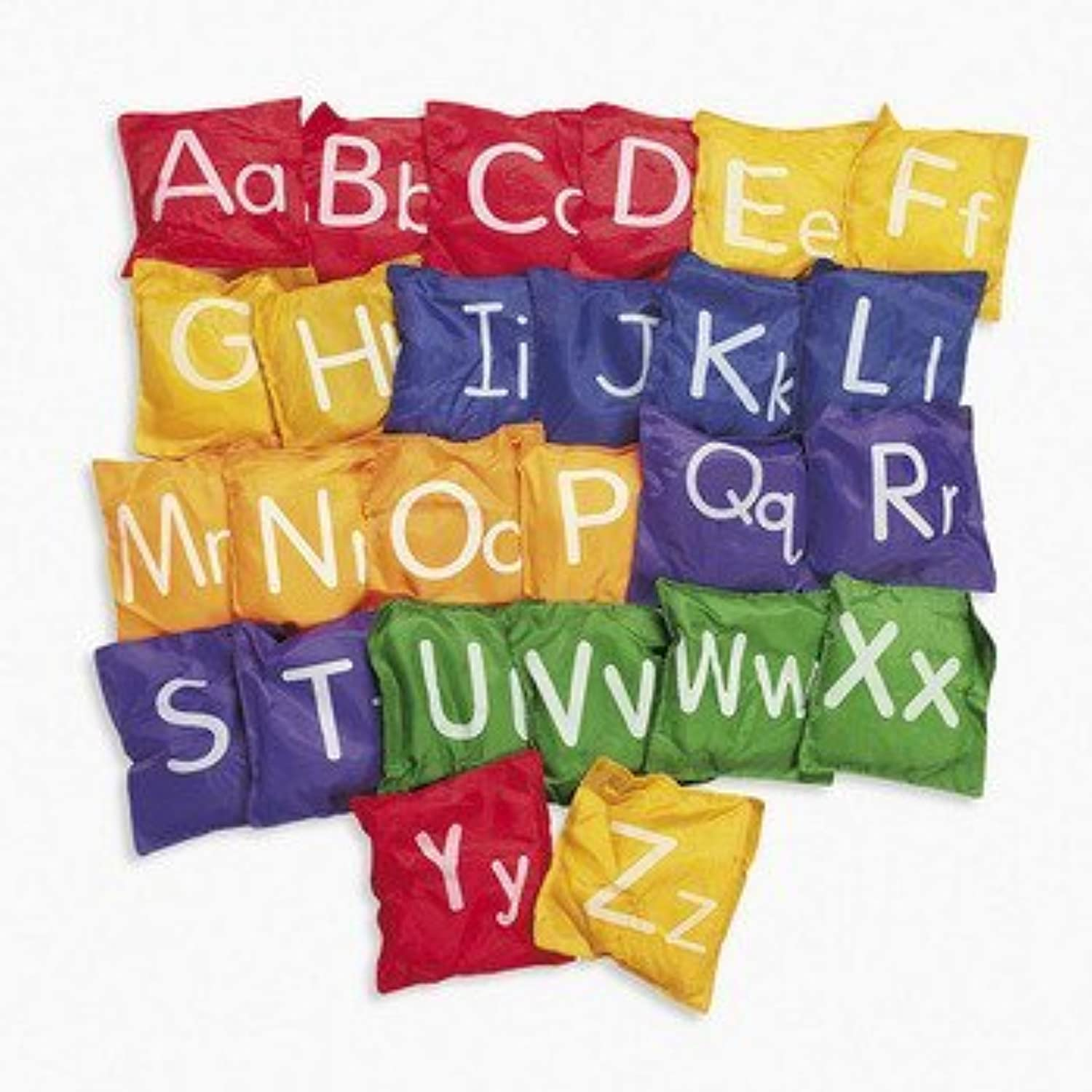 Alphabet Bean Bags Letters Uppercase Lowercase Toss Game by FE