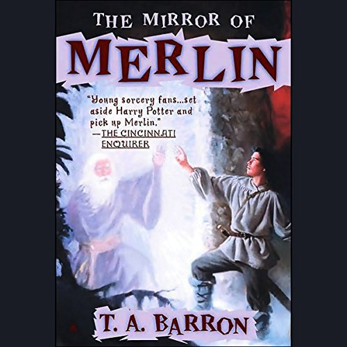 The Mirror of Merlin audiobook cover art