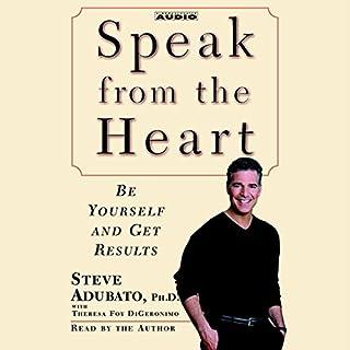 Speak from the Heart audiobook cover art