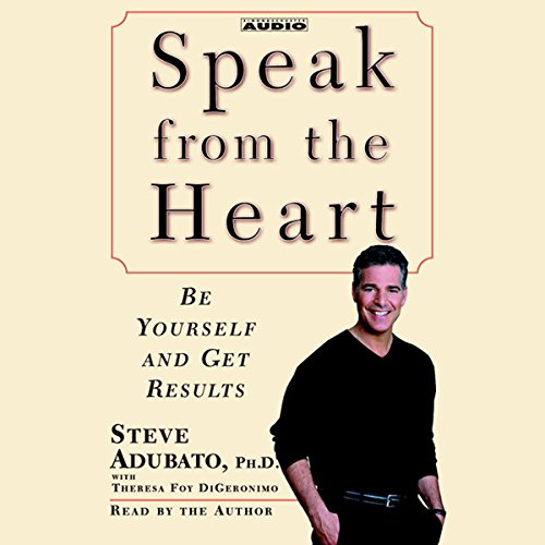 Speak from the Heart audiobook cover art