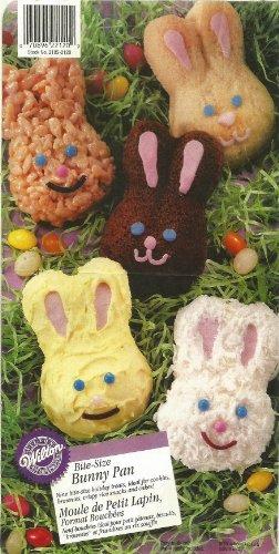 Wilton Bite-size Petite Bunnies Cake Pan Cookie Brownie Treat Mold ~ 9 Cavity