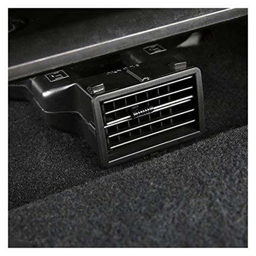 SSXPNJALQ ABS Coche Atrás Asiento Aire Acondicionado Outlet Vent Air Extension Tube Pied Fit para Subaru Forester XV Outback BRZ (Color : Black)