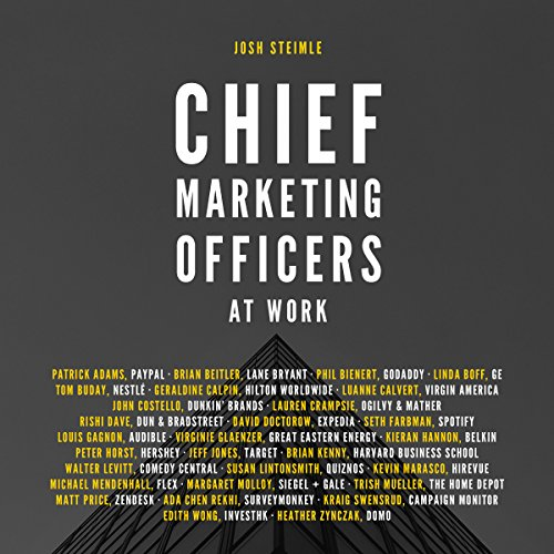 Chief Marketing Officers at Work cover art
