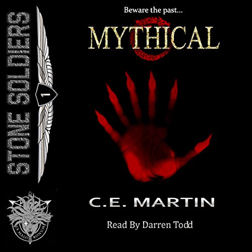 Mythical audiobook cover art