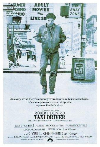 Close Up Taxi Driver Poster, Affiche (68cm x 101,5cm)