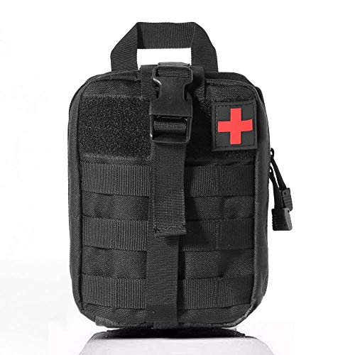 Honestptner First Aid Pouch, Rip-Away EMT 1000D Nylon Tactical Medical Molle Pouch