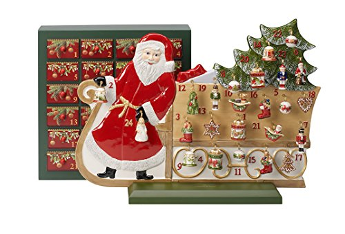 Villeroy & Boch Christmas Toys Memory Porzellan Adventskalender Schlitten