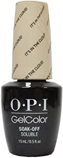 OPI GelColor Soak Off LED/UV Gel Nail Polish T71 It's In The Cloud 15ml