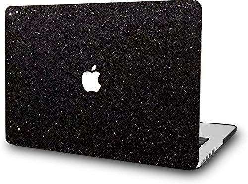 RQTX Caes rígidos Negros Brillantes de Lujo para el Nuevo MacBook Air...