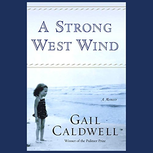 A Strong West Wind audiobook cover art