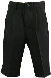 ハッピークローバー フォーマルハーフパンツ 黒無地 100~160cm halfpants