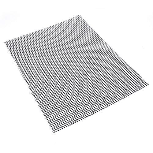 greatdaily 2PCS Grillmatte Gitter Grillmatte Antihaft - Backmatte Backmatten Gebacken - Getestet Von Fda, Lfgb, Sgs - Ideal Zum Brötchenaufbacken 3040cm