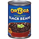 Ortega Black Beans, Original Flavor, 15 Ounce (Pack of 12)