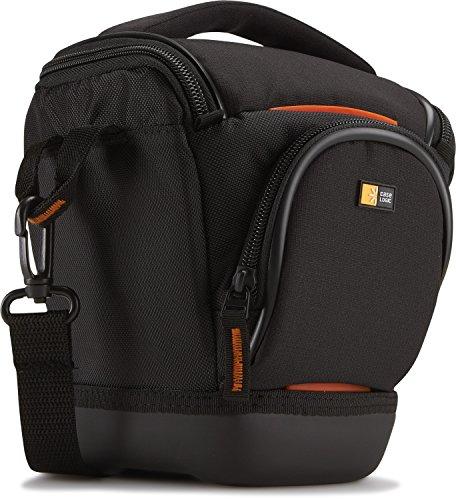 Case-Logic SLRC-200 Custodia Fondina in Nylon per Fotocamere SLR, Adatto ai dispositivi 15.2 x 10.9 x 15.2 cm, Nero