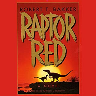 Raptor Red audiobook cover art