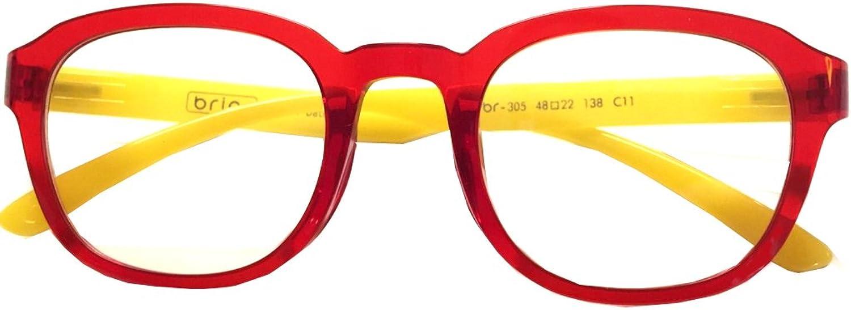 Briar Prescription Eye Glasses Frame Ultem Super Light, Flexible Br 305 C11