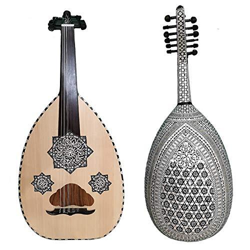 Oud Ägyptische Perlmutt, Modell Adhara – orientalische Musik, arabische Luth – Geräusche des Orients