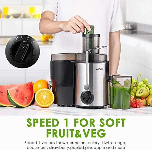 Aicok Licuadoras Para Verduras y Frutas, 3
