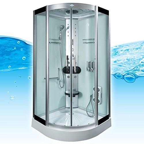 AcquaVapore DTP8058-5002 Dusche Dampfdusche Duschtempel Duschkabine 90×90 XL, EasyClean Versiegelung der Scheiben:2K Scheiben Versiegelung +89.-EUR - 2